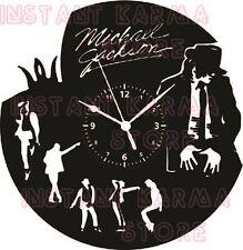 Vinyl-Schallplatte Wohnkultur Wanduhr - MUSIC POP - MICHAEL JACKSON