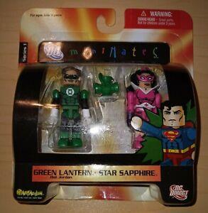 "Minimates DC C3 GREEN LANTERN ""GREEN LANTERN(Hal Jordan) and STAR SAPPHIRE"""