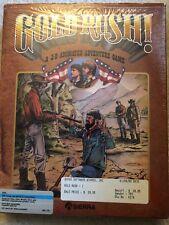 Gold Rush! by Sierra (1988) IBM PC Game Vintage RARE!!! Big Box W Hint Book