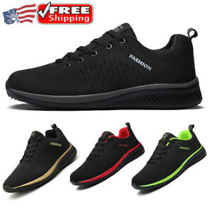 Men's Womens Athletic Shoes Running Casual Jogging Sports Tennis Sneakers Gym US
