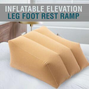 Inflatable Elevation Leg Foot Rest Ramp Raiser Support Pillow Cushion Home AU