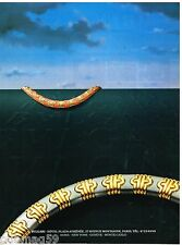 Publicité Advertising 1986 Les Bijoux  BULGARI
