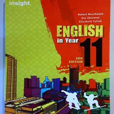 A6 English in Year 11 by Elizabeth Tulloh, Robert Beardwood, Sue Sherman 2E