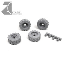 Zinge Industries 23mm Military Wheels x4 (S-WHE05)