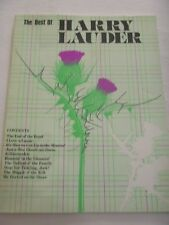 The Best Of HARRY LAUDER Songbook  - Words and Music  Scotland Scottish
