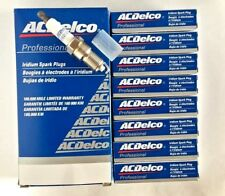 8x Acdelco Iridium Spark Plugs for Cadilac Gmc Pontiac Hummer 41-110 12621258(Fits: Hummer)