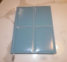 """ARIA BLUE LEATHER BOUND JOURNAL FROM 2005 8 1/2"""" x 11 1/4"""""""