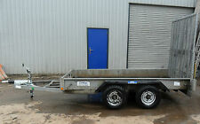 Indespension 3.5 Tonne Twin Axle Plant Trailer