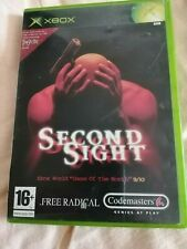 Second Sight-ORIGINAL XBOX Codemasters 2004 testé et de travail