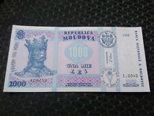 1000 lei 1992 UNC Moldova