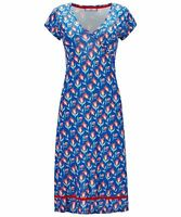 BN LADIES JOE BROWN TOTALLY TULIP FLORAL SUMMER JERSEY DRESS TUNIC S 8-18 RP.£39