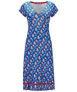 BN LADIES JOE BROWN TOTALLY TULIP FLORAL SUMMER JERSEY DRESS TUNIC S 8-18 RP.£39