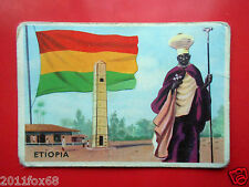 figurines cromos cards figurine sidam gli stati del mondo 3 etiopia bandiere sas