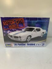 Revell 1/24 Scale Motor City Muscle 70 Pontiac Firebird 2 n 1 85-2026 NEW Sealed