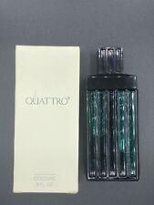 NIB Mary Kay Quattro Cologne Men's 4 oz Discontinued Fragrance (SPLASH ) READ!!
