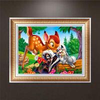 Animal DIY 5D Diamond Embroidery Painting Cross Stitch Craft Kit Home Decor S VL