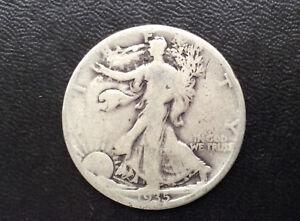 1935-D Liberty Walking Half Dollar Silver U.S. Coin A0669