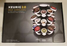 Keurig 2.0 Neo Carousel for K-Cup K-Carafe Coffee Tea Beverage Pod Storage ~NEW