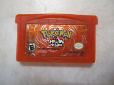Pokemon Fire Red Version. Authentic Game Boy Advance