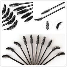 Mode 100pcs exquis jetable Brosse Mascara cils baguettes applicateur Charm