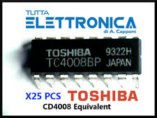 TC4008 BP CD4008 BE CMOS 4 Bit Binary Full Adder with Carry Out Parallel X25 PCS