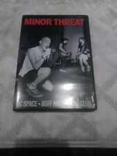 Minor Threat At DC Space, Buff Hall and 9:30 Club W/16 Page Booklet DVD 2003