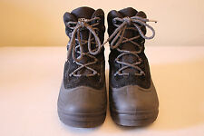 Men's Colombia 200grams Black Snowboots With Warm Lining Size 8