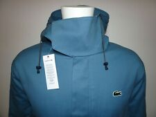 LACOSTE LIVE MENS HOODED & FAUX FUR QUILTED FISHTAIL PARKA FR56 3XL RRP:-£250