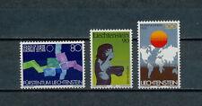 Liechtenstein   668-70  MNH, Telecommunications, 1979