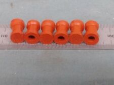 LOT OF 6 R WOLF RED RUBBER ADAPTER COUPLER FOR SCOPE ACMI OLYMPUS STRYKER NURSE
