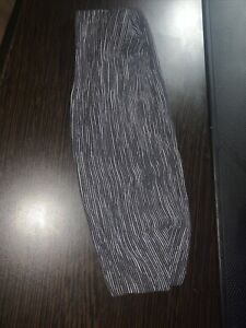 Lululemon Headband Girls (reversible Grey And White)