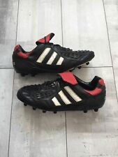 RARE Retro Adidas Predator Touch 1996 Red Black Cleats Boots US 11 1/2 UK 11