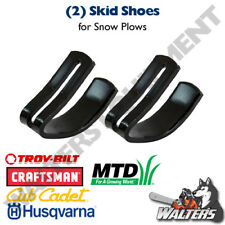 (2) Skid Shoes for Snow Blades/Plows 24690 23070