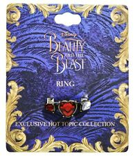 Disney Beauty & The Beast Live Action Movie True Beauty Replica Ring Size 7 NWT!