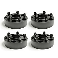 4 2 inch Wheel Spacers 50mm Adapters for BMW X5 E53 E70 F15 X5M 2000-2018 Black