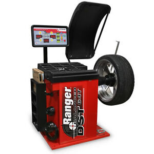 Ranger DST64T Wheel Balancer 3-D Quick Touch Automatic Wheel DataWand Entry