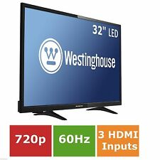 "32"" inch LED flat screen television Wall Mountable HDTV slim high Hi def HDMI HD"