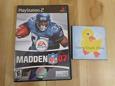 PS2 Madden NFL 07 Sony PlayStation 2 EA Sports 2006 Online Broadband Only