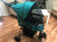 Pet Gear  No-Zip Happy Trails Pet Stroller - Emerald