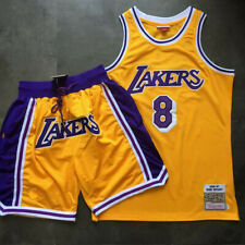 Men's Jersey Basketball Uniform NBA Los Angeles Lakers Kobe Bryant #8 Basketbal