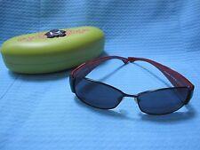 f3eef10cdf9789 Koali Morel Designer Sunglasses 6401 Black Red Original Green Case EUC  France