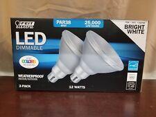 Feit Par38 Spot Dimmable Led Light Bulb 2-Pack