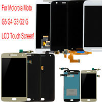 NEW Replace For Motorola Moto G5 G4 G3 G2 G LCD Display Touch Screen Assembly 2H