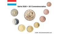 2 Euros Commémorative Luxembourg 2020 Naissance Prince Henri UNC + Série 8 pièce