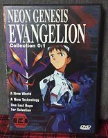Neon Genesis Evangelion Collection 0 : 1 DVD Episodi 1 / 4  in Lingua Inglese