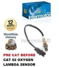 Per ALFA ROMEO 156 GT GTV6 JTS 2.0 96-06 pre prima CAT 02 Ossigeno Sensore Lambda