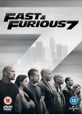 Fast and Furious 7 DVD New & Sealed