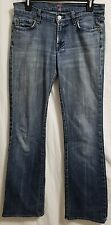 7 for all mankind jeans Sz 27 New York Dark Pink Signature (NYD)U075PK080U 31x32