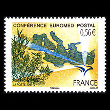 France 2009 - Euromed Conference Paris - Sc 3731 MNH