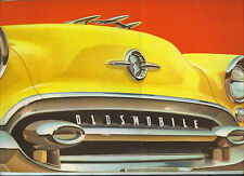 Oldsmobile  CANADIAN  Catalog  88, Super 88 And 98  1955